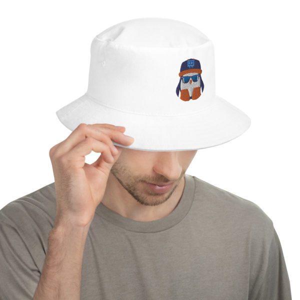 White Crispin Bucket Hat - 1