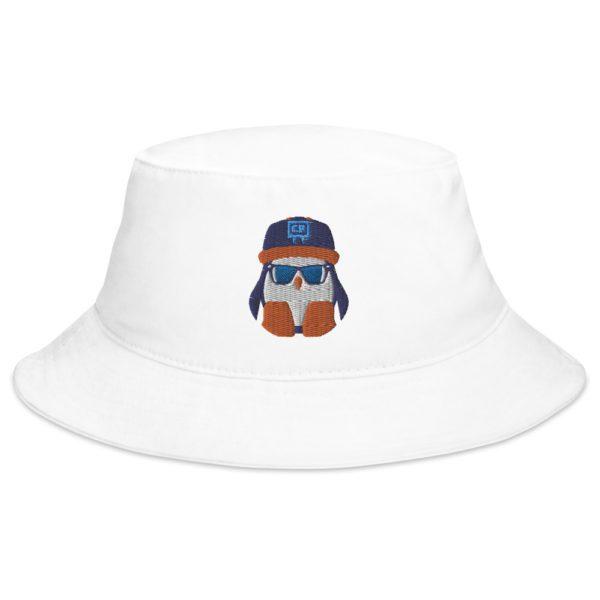 White Crispin Bucket Hat