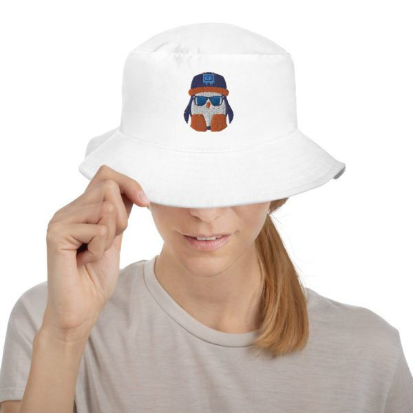 White Crispin Bucket Hat - 2